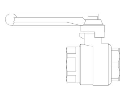 Revit, Bim, Store, Components, MEP, Object, Altecnic, Mechanical, Pipe, Merchant, 3230, series, Ballstop, backflow, prevention, isolation, valve