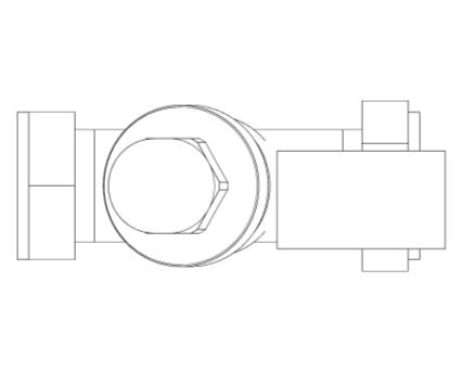 Revit, Bim, Store, Components, MEP, Object, Altecnic, Mechanical, Pipe, Merchant, 533H, Prescal,high, performance, pressure, reducing, valve, compression, residential, water , system, screwed, iron, pressure, gauge, Cu, port