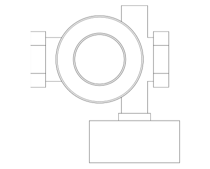 Revit, Bim, Store, Components, MEP, Object, Altecnic, Mechanical, Pipe, Prescal, 536, Pressure, Reducing, Valve, Female, BSP