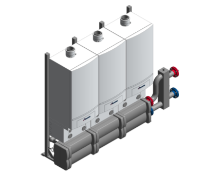 Bim, ,content,object,component,BIM, Store, Revit, bosch, buderus, Worcester,heat,module,boiler,mechanical,equipment,GB162,wall,mounted,gas,fired,condensing,boiler,50kw,65kw,80kw,100kw,cascade,in-line,back-to-back