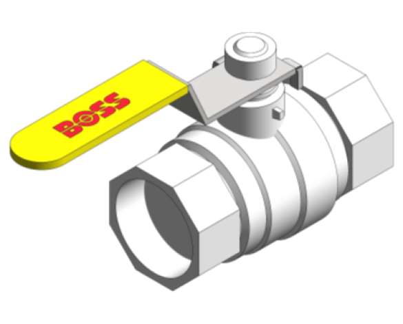 Ball Valve - 966SYL | bimwarehouse