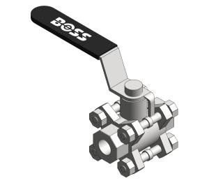 Product: Ball Valve - B380DD/B380DX