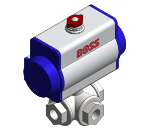 Product: Ball Valve With Electric Actuator - 360L-350T-DA/SR