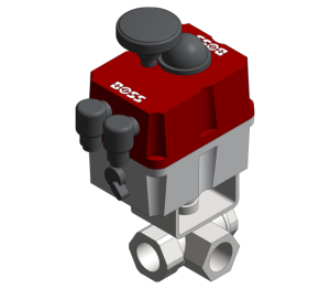 Product: Ball Valve With Electric Actuator - B231L-EA B232T-EA
