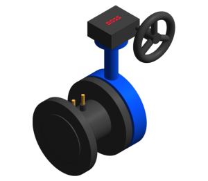 Product: Butterfly Venturi Commissioning Valve (FODRV) - Fig. 900XSS