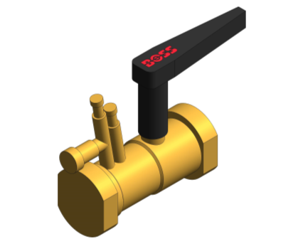 Revit, BIM, Store, Components, Architecture, Object, Free, Download, Pipe, System, MEP, Plumbing, Mechanical, Fig, 903, Venturi, Commissioning, Valve, with, Drain, Female
