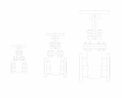 Revit, BIM, Store, Components, Architecture, Object,Free,Download,MEP,Mechanical,Pipe,Crane,Fluid,Systems,Valve,Gate,33XU-F,cast,steel,class,300
