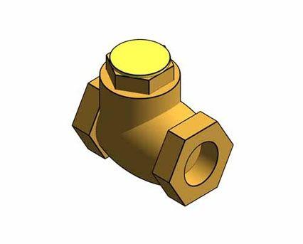 Revit, BIM, Store, Components, Architecture, Object,Free,Download,MEP,Mechanical,Pipe,Crane,Fluid,Systems,Valve,Check,Swing,D140,PN25,Bronze,Resilient,Disc