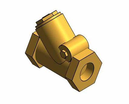 Revit, BIM, Store, Components, Architecture, Object,Free,Download,MEP,Mechanical,Pipe,Crane,Fluid,Systems,Valve,Check,Swing,D142,PN32,Bronze,
