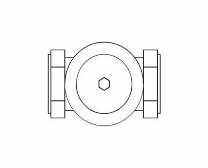 Revit, BIM, Store, Components, Architecture, Object,Free,Download,MEP,Mechanical,Pipe,Crane,Fluid,Systems,Valve,Gate,D155C,Bronze,PN16,Compression,Ended