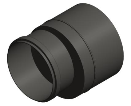 Bim, BIM, Store, Revit, Durapipe, Pipe, Pipes, Fitting, Accessories, Valves, Friaphon, 160mm, 110mm, Reducer