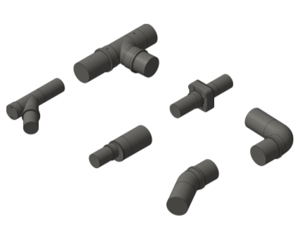 Bim, BIM, Store, Revit, Durapipe, Pipe, Pipes, Fitting, Accessories, Valves, Friaphon, Sound, Insulated, Pipe, Complete, System