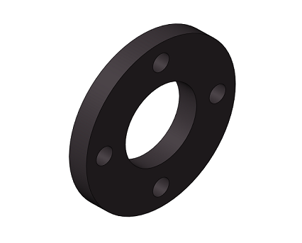 Bim, BIM, Store, Revit, Durapipe, Pipe, Pipes, Fitting, Accessories, Valves, HTA, CPVC, Backing, Rings, PN16, Black, 4, Holes