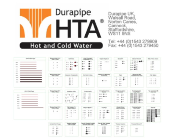 HTA - Metric Pipe System - With Fittings | bimwarehouse