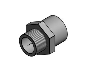 Product: SuperFLO Fitting - Male Threaded Adaptors