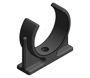 Product: Vulcathene Mechanical - Pipe Clip - PC9