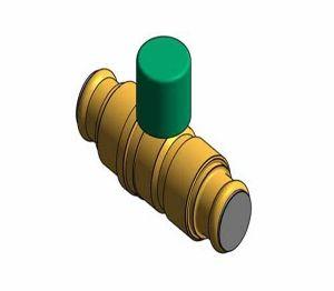 Product: Fig.100LS.PF - Press-Fit DZR Ball Valve