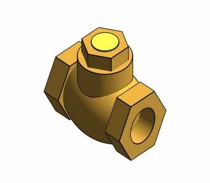 Product: Fig. 1013 - Check Valves - Bronze - Horizontal Lift Pattern