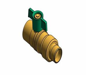 Product: Fig.107MHU - Ball Valve with Male Union
