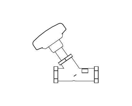 Revit, BIM, Store, Components, Architecture,Object,Free,Download,MEP,Mechanical,Pipe,Hattersley,Valve,Strainer,Hatts,Fig. 1432C, Static ,Balancing, Valves,PN20,threaded,double,regulating