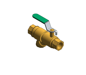 Product: Fig. 1807L - DZR Strainer Ball Valve