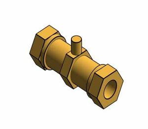 Product: Fig. 249 - Double Check Valve - Brass - Compression ended