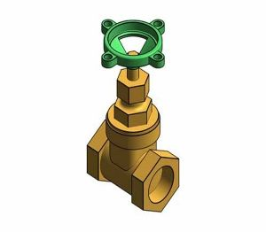 Product: Fig. 33X - Gate Valve - Bronze