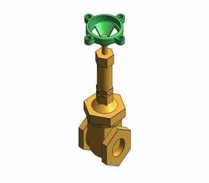 Product: Fig. 609 - Gate Valve - Bronze