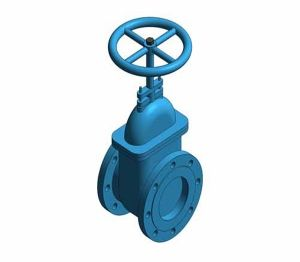 Product: Fig. M511 - Gate Valve - Cast Iron