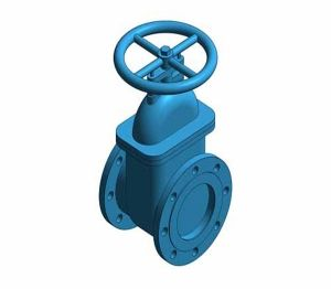 Product: Fig. M549 - Gate Valve - Cast Iron
