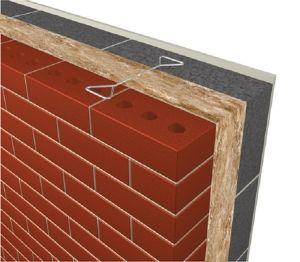 Product: Masonry Cavity Wall - U-value - 0.18 W/m²K