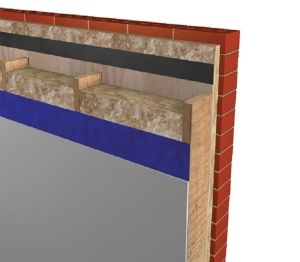 Product: Timber Frame Wall - U-value - 0.18 W/m²K