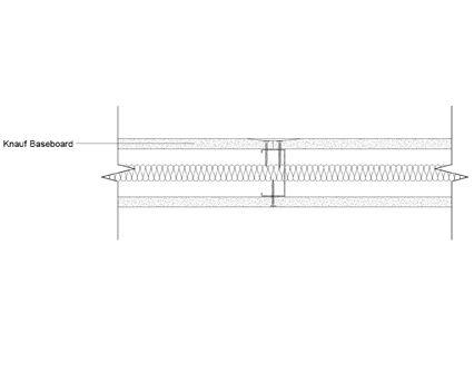 Autodesk, Revit, BIM, Components, Walls, Partitions, Knauf, Metal Sections, Baseboard, Plasterboard