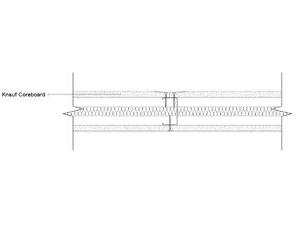 Autodesk, Revit, BIM, Components, Walls, Partitions, Knauf, Metal Sections, Core Board, Plasterboard