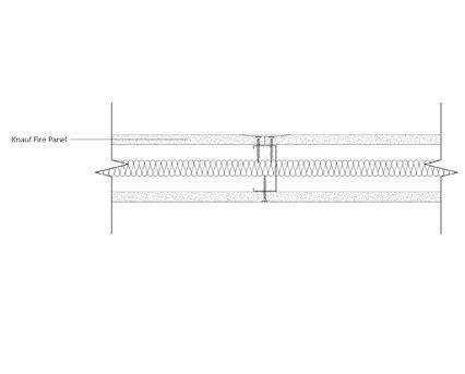 Autodesk, Revit, BIM, Components, Walls, Partitions, Knauf, Metal Sections, Fire Panel, Plasterboard