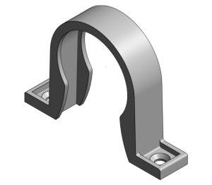 Product: ABS - Pipe Clip