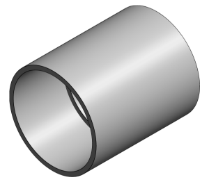 Product: ABS - Straight Coupler