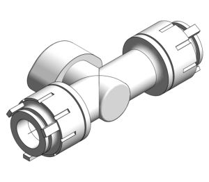 Product: PolyFit Shut Off Valve White