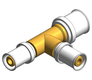 Product: PolySure - Brass - Equal Tees