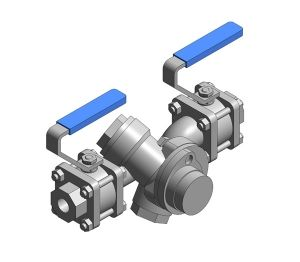 Product: Single Upstream Isolation Steam Trapping Station