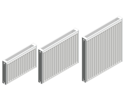Revit, BIM, Download, Free, Components, object, objects, Stelrad, radiator, heating, mechanical, range, equipment, radiators,bathroom,kitchen, vita, compact, k1, k2, p+