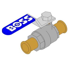 Product: Lever Ball Valve - 986PB